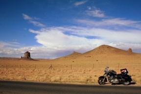 In Monument Valley. Photo: Zac Kurylyk