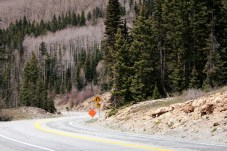 Many of Colorado's roads weren't open yet, as workers cleared landslides and other debris from the mountain passes. Photo: Zac Kurylyk