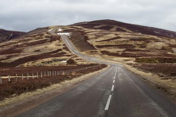 There may be patches of snow, but the roads and scenery are incredible.