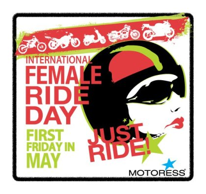 Ladies, get out there and ride!