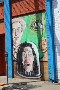 Graffiti in Deep Ellum, Dallas. Photo: Zac Kurylyk