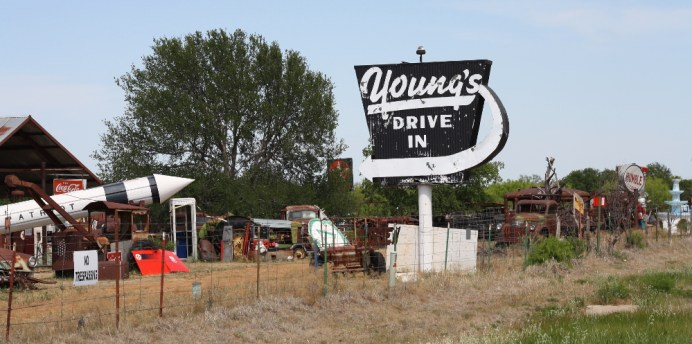 """If by """"drive in"""" they mean """"grotty junkyard,"""" then they'd be right. Photo: Zac Kurylyk"""