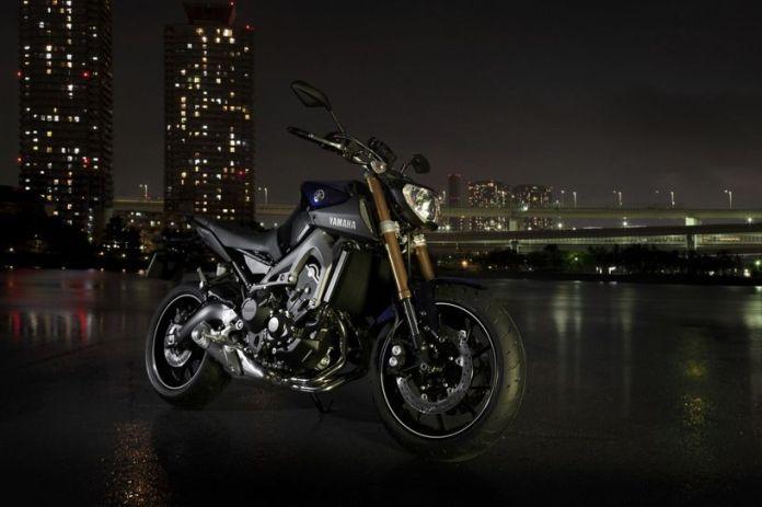 Here's what Yamaha's new MT-09 naked bike looks like.