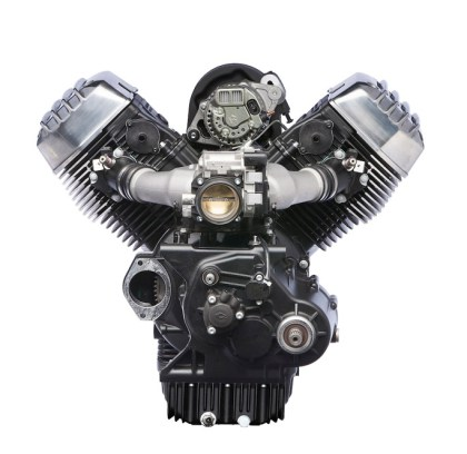 Rumours abound that Moto Guzzi is planning to water-cool this motor.