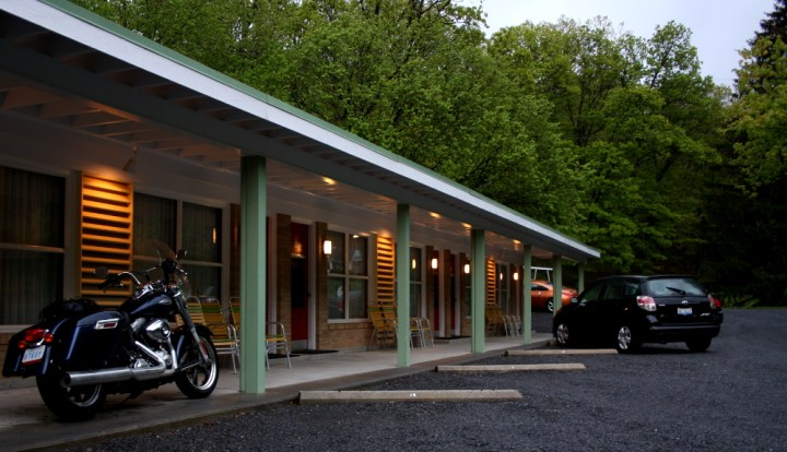 Motels and the like are expensive after a few weeks on the road, but there's a solution.