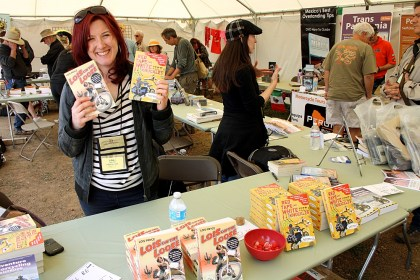 Pryce was at Overland Expo when I attended there in May, but if you missed that event, you can buy her books from Octane Press.