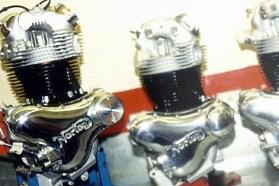 Like the original, the replicas will feature 750 cc Commando motors.