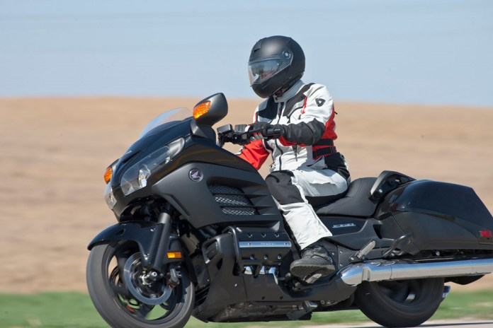 Zac wears his 2013 Gear for the Year (minus the Dainese boots) as he rides the F6B. Photo: Bill Petro