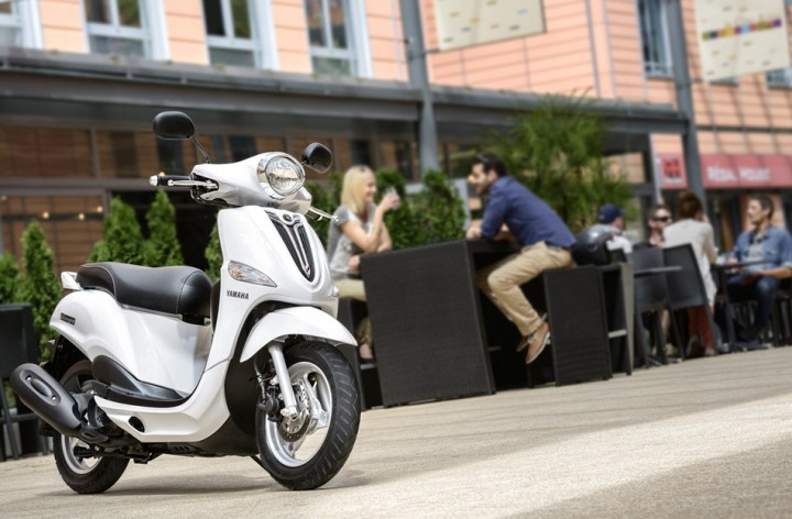 Yamaha unveils new D'elight scooter in Europe