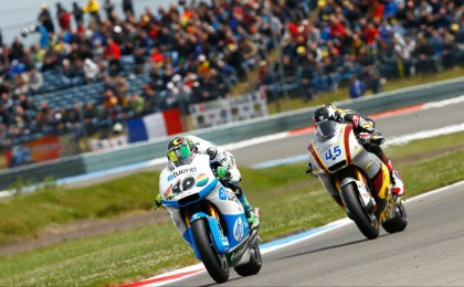 The Moto2 race was a thriller as well.