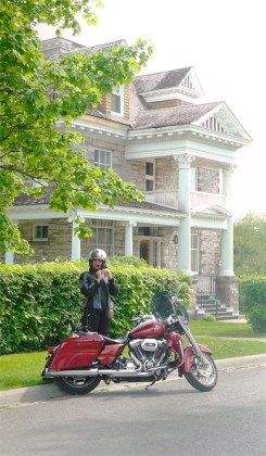 Stops along the way are a great way to explore and truly enjoy the ride on the Harley.
