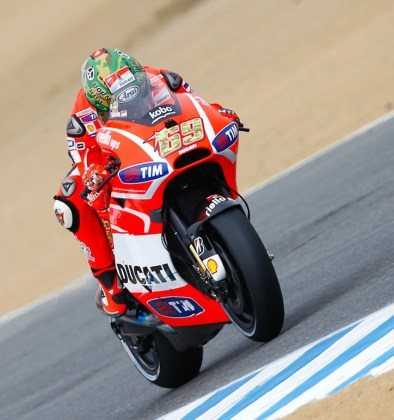Goodbye Ducati, hello Honda. Nicky Hayden will be riding the factory MotoGP Honda next year. Photo: MotoGP