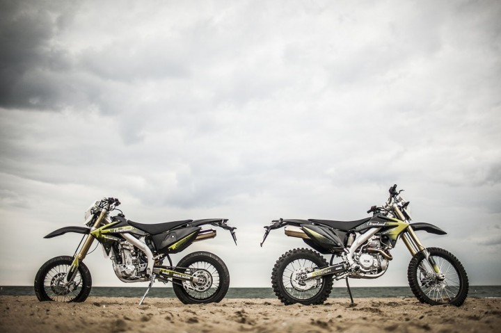 Cleveland Cyclewerks is also working on a dual-sport version of their 450. Photo: CCW