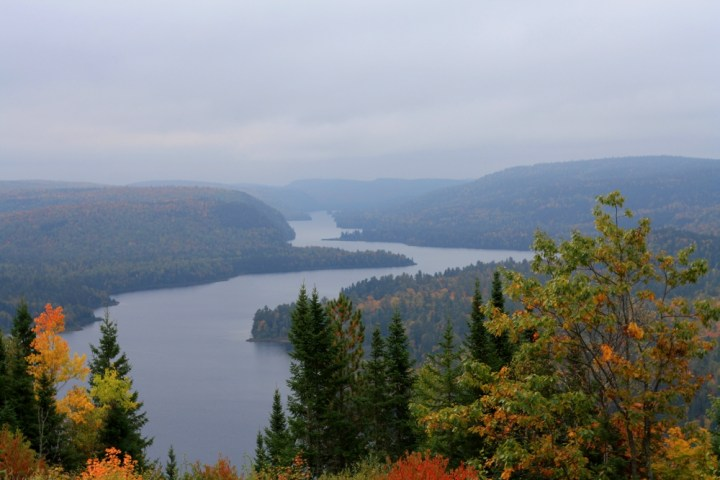 The views from the lookoffs in Park Mauricie can be spectacular. Photo: Zac Kurylyk