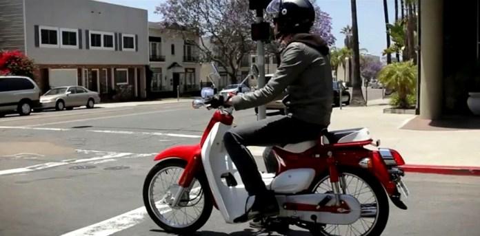 The Symba's ergonomics are better than the original Cub's says Jamie. Photo: Youtube