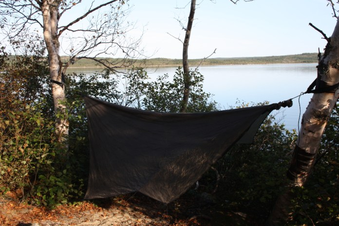 Hennessy hammocks are well-known amongst the adventure riding set; there are many threads on ADVrider and other forums with discussion of the Canadian company's offerings. Photo: Zac Kurylyk