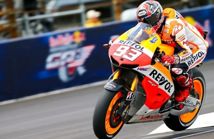 At this point, Marc Marquez has won four of ten races this year, and taken all three US rounds. Photo: MotoGP