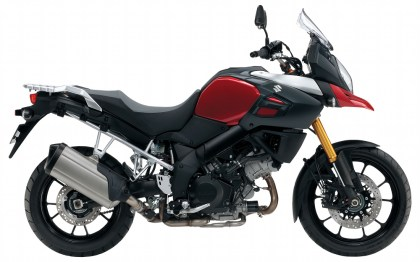 The new V-Strom 1000 is more powerful than its predecessor.