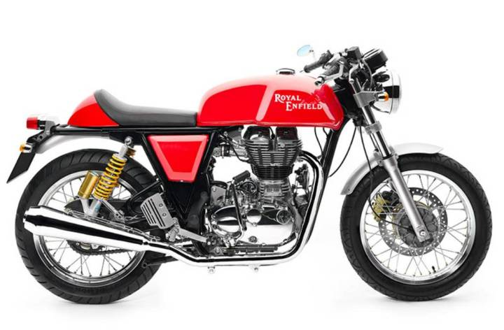 Royal Enfield launches Continental GT cafe racer