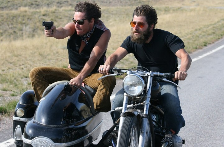 Two weeks from now, there's a motorcycle film festival in New York