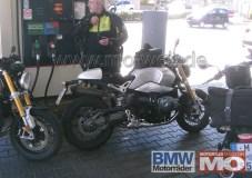 Here's BMW's new NineT roadster. Photo: Motorrad Magazine