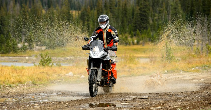 The test bike came equipped with TKC-80s, instead of the stock Trail Attack tires.