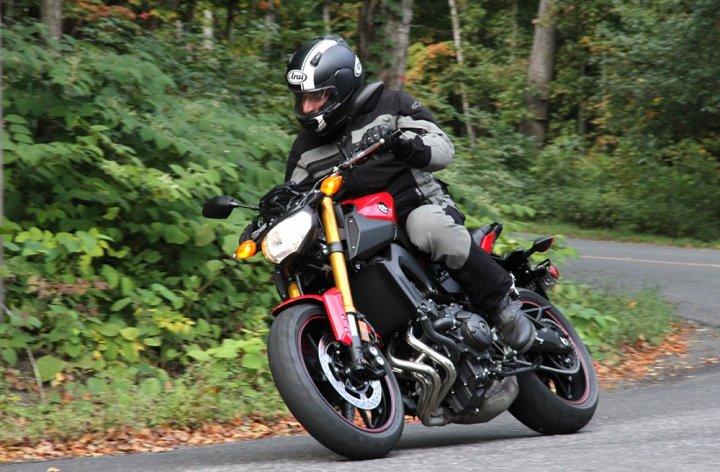 Three times the fun: Yamaha FZ-09 Launch