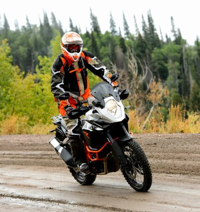 Off-road ABS even lets you lock up the rear wheel, but the system re-sets itself when you turn the bike off, which creates a bit of hassle.