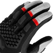 Rev'It passed on the carbon-fibre armour that most glovemakers use these days.