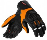 Here's what the gloves look like in orange/black.