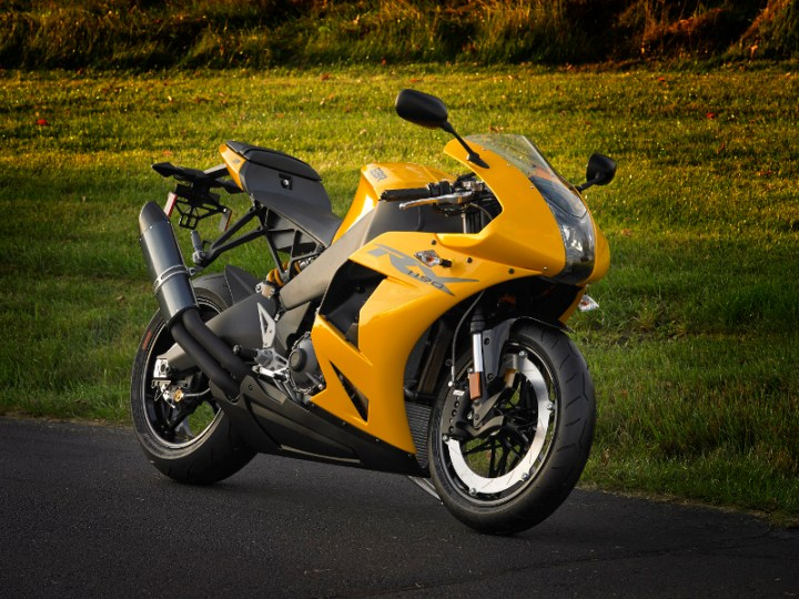 Erik Buell's 1190RX should be available in Canada in 2014.