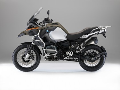 Bodywork is a bit different from the standard R 1200 GS.