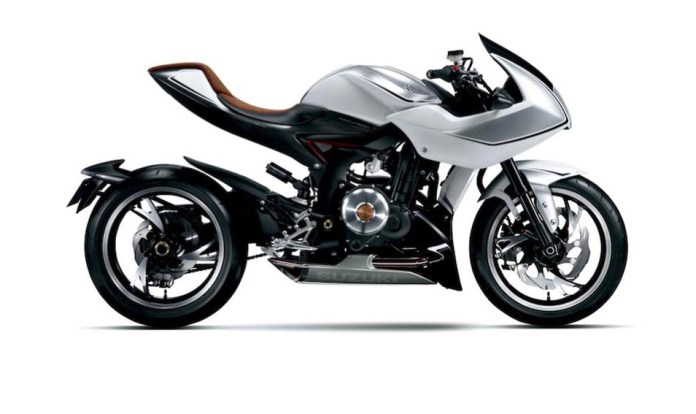Now, with more turbo: Here's the Suzuki Recursion concept bike.