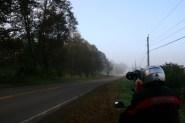 Fog, en route to Parrsboro. Photo: Mike Leyden