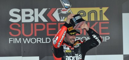 Eugene Laverty ended up winning both of the weekend's races, but that wasn't enough to give him the series lead. Photo: WorldSBK.com