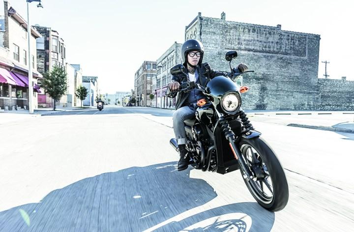Les nouvelles Harley-Davidson Street 500 et 750 aux X Games