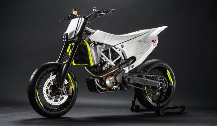 The Husqvarna 701 prototype shows the company hasn't forgotten their supermoto models.