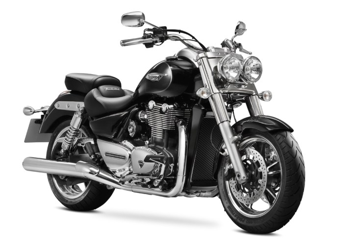Triumph introduced a few new big models, like this Commander, but they are also working on a 250.