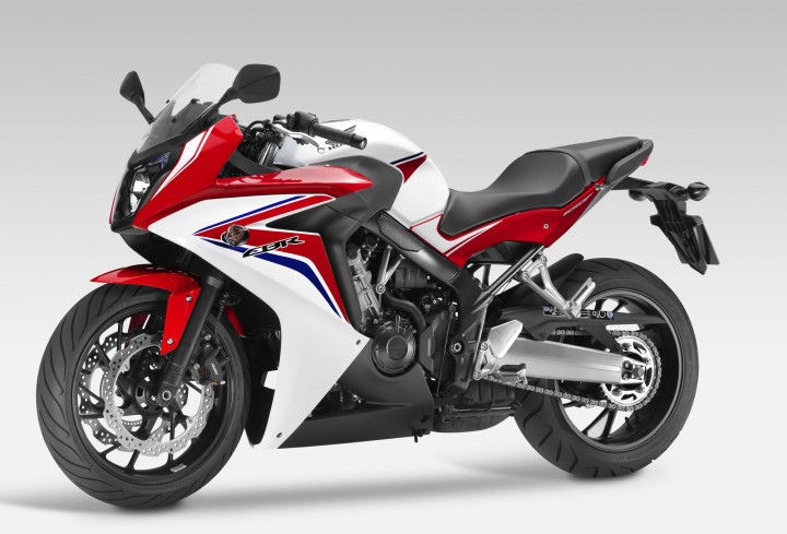 CBR version goes back to the old F4 days of the comfortable super sport.