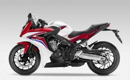The new CBR650F is a return to practical sport bikes.