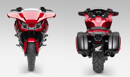 The new CTX1300 takes the ST1300's motor and puts it into a cruiser chassis.