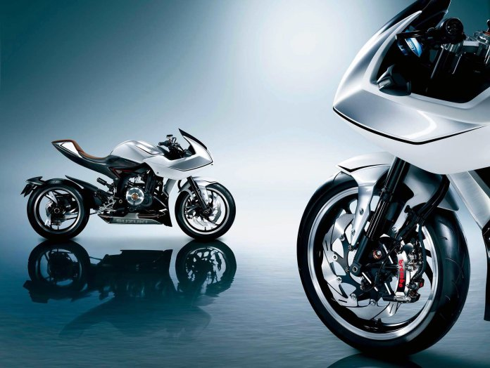 The Suzuki Recursion concept bike might make the rounds on this year's show circuit.