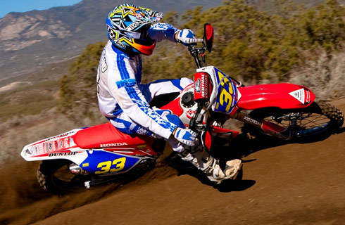 Timmy Weigand was the top motorcycle qualifier for the Baja 1000.