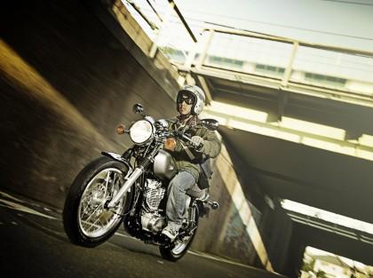 Yamaha's introduced their SR400 to western markets again.