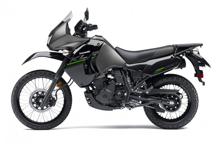 Here are more details on Kawasaki's KLR650 New Edition