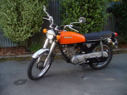 Honda CG125   Photo: Wikipedia