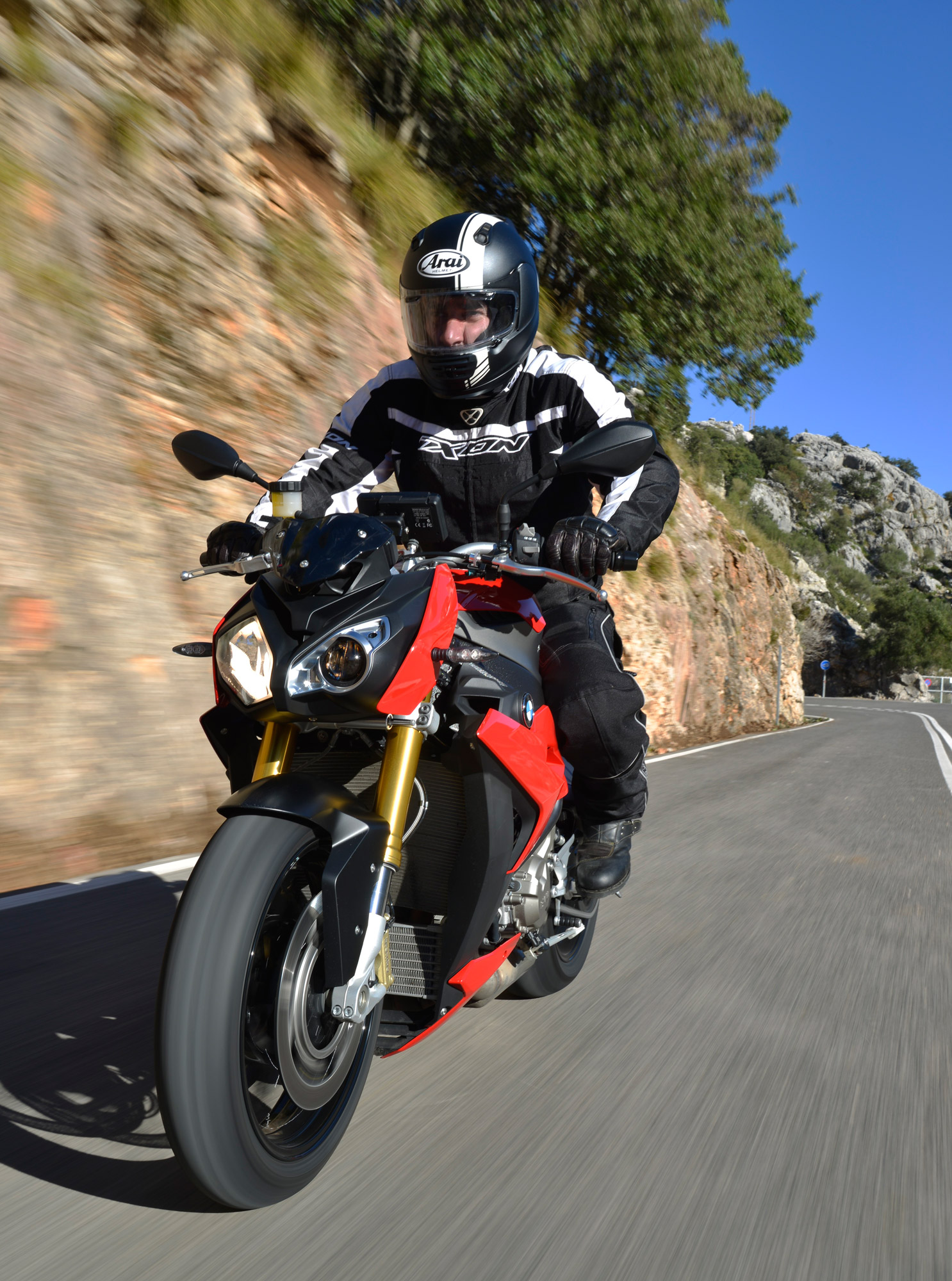 Bmw 2014 S1000r Spanish Launch Canada Moto Guide Wiring Harness In Early Prototypes Were A Little Too Wild For Production