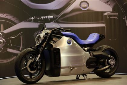The Voxan Wattman is supposed to be the world's most powerful electric motorcycle.