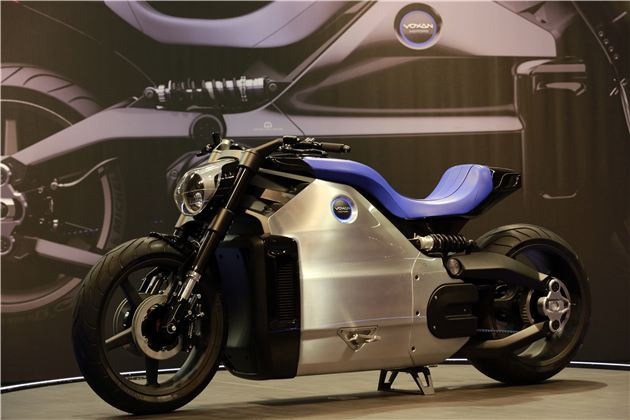 Voxan builds a massively powerful electric bike
