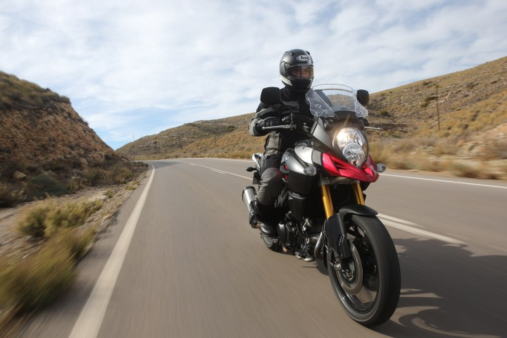 Suzuki 1000 V-Strom launch